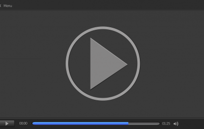 video player sign